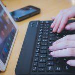 bluetooth対応のキーボードが便利過ぎてスマホにもオススメ