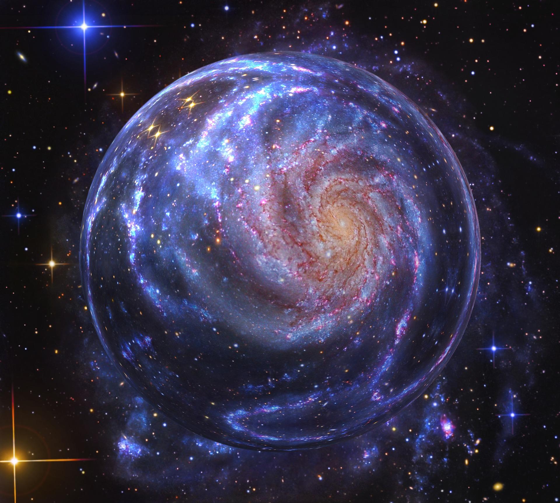 幻想的な銀河