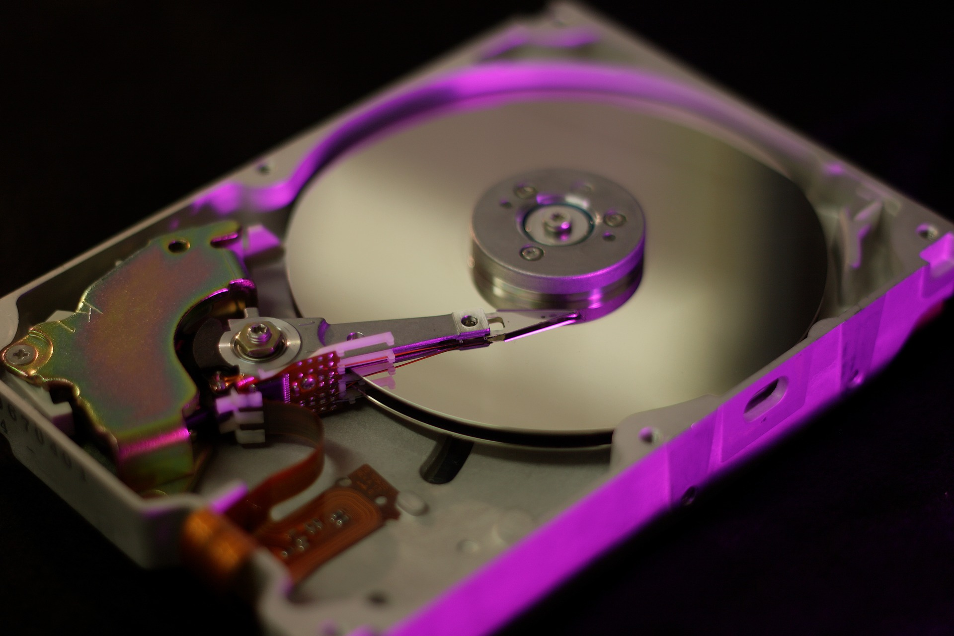 HDD内部