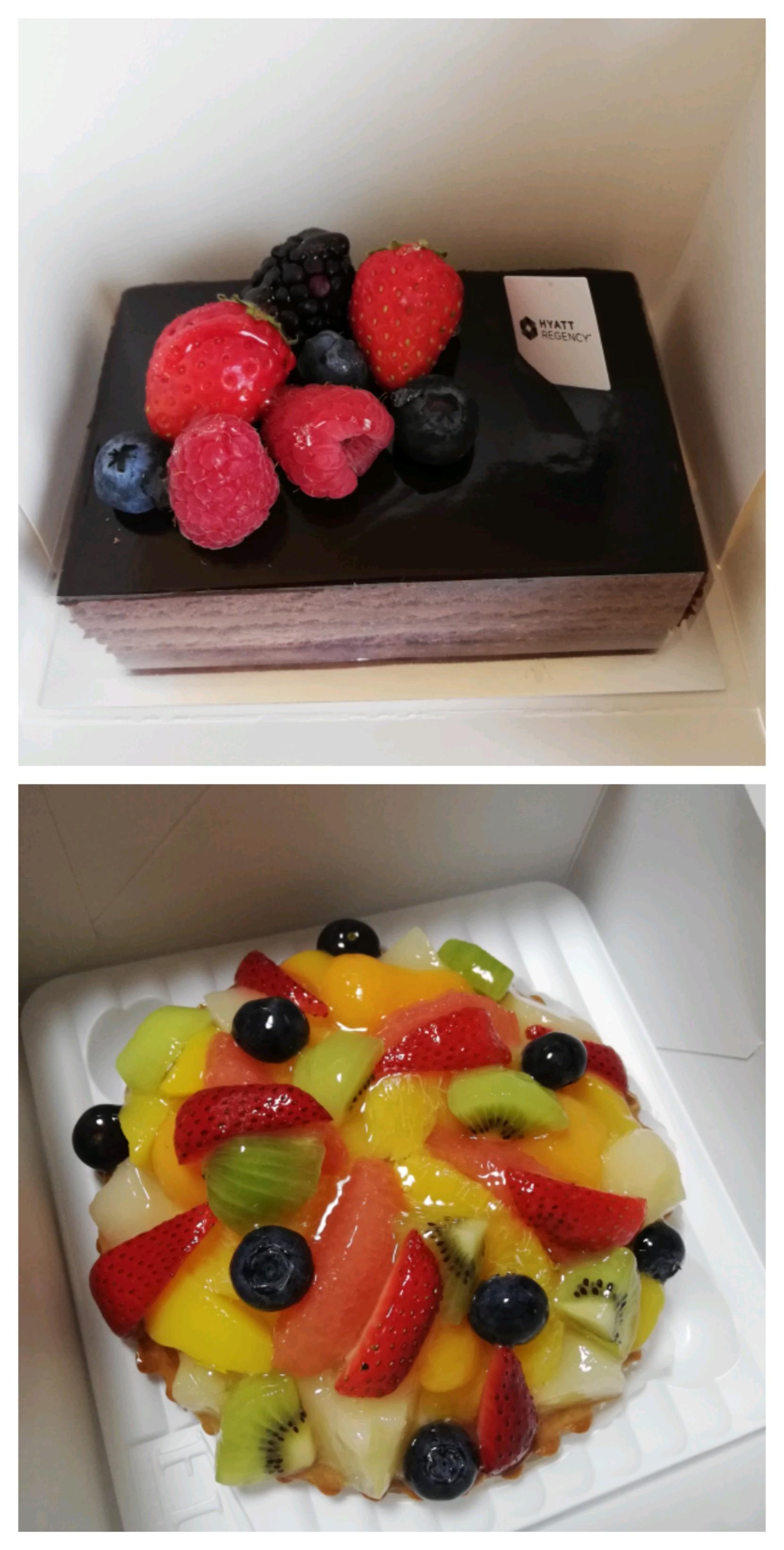 2種類のケーキ