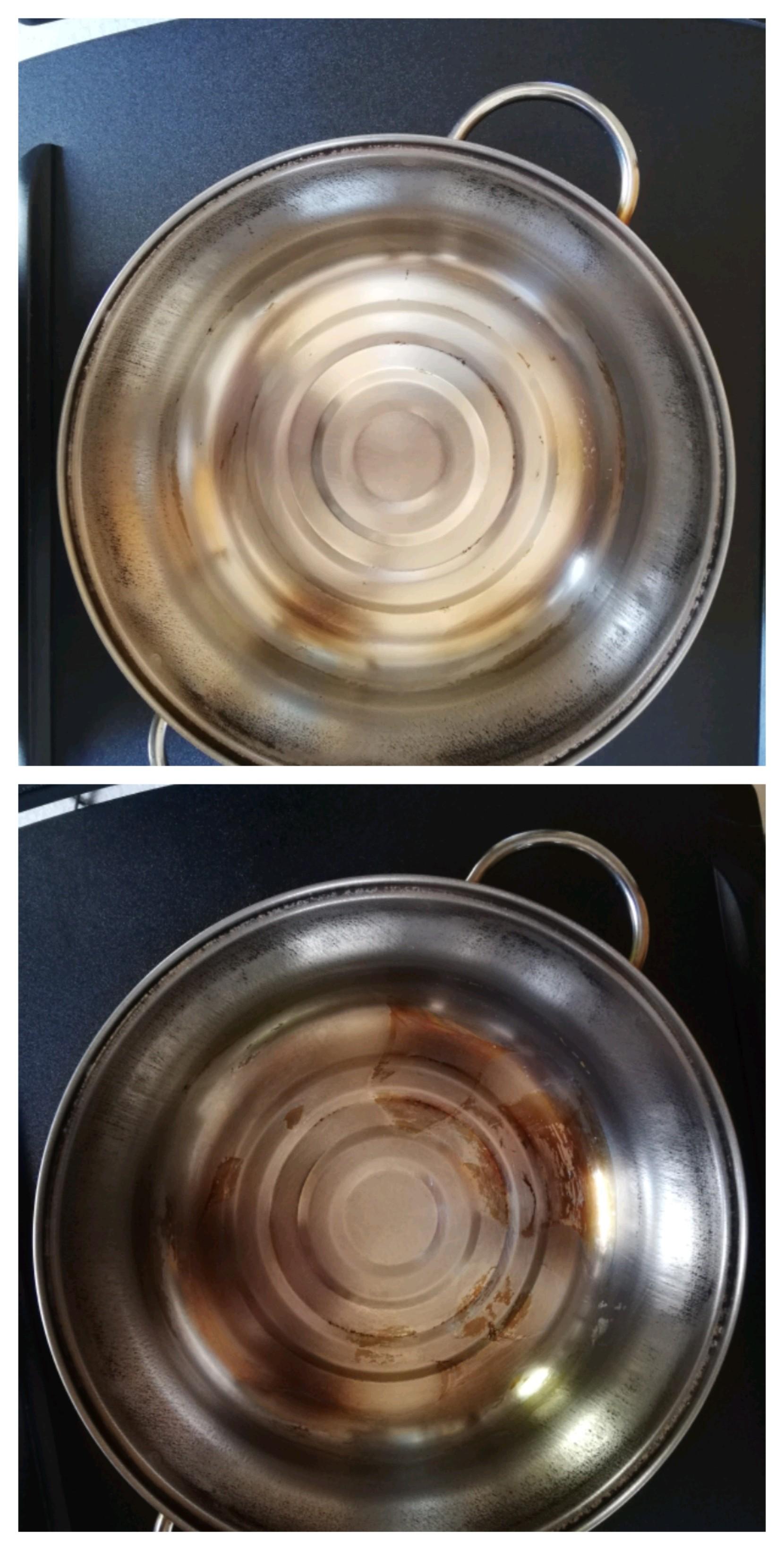 鍋の汚れ比較