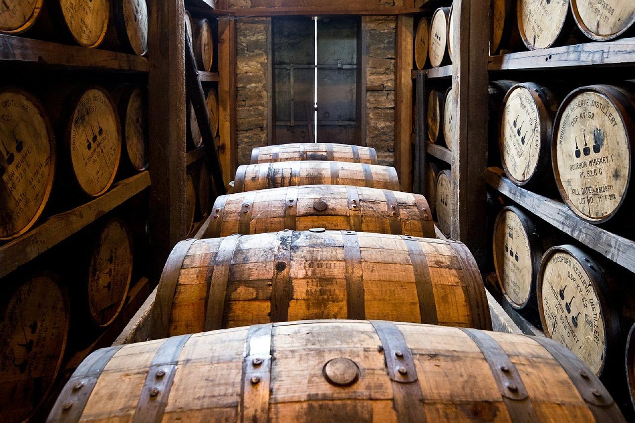 ウイスキー貯蔵庫